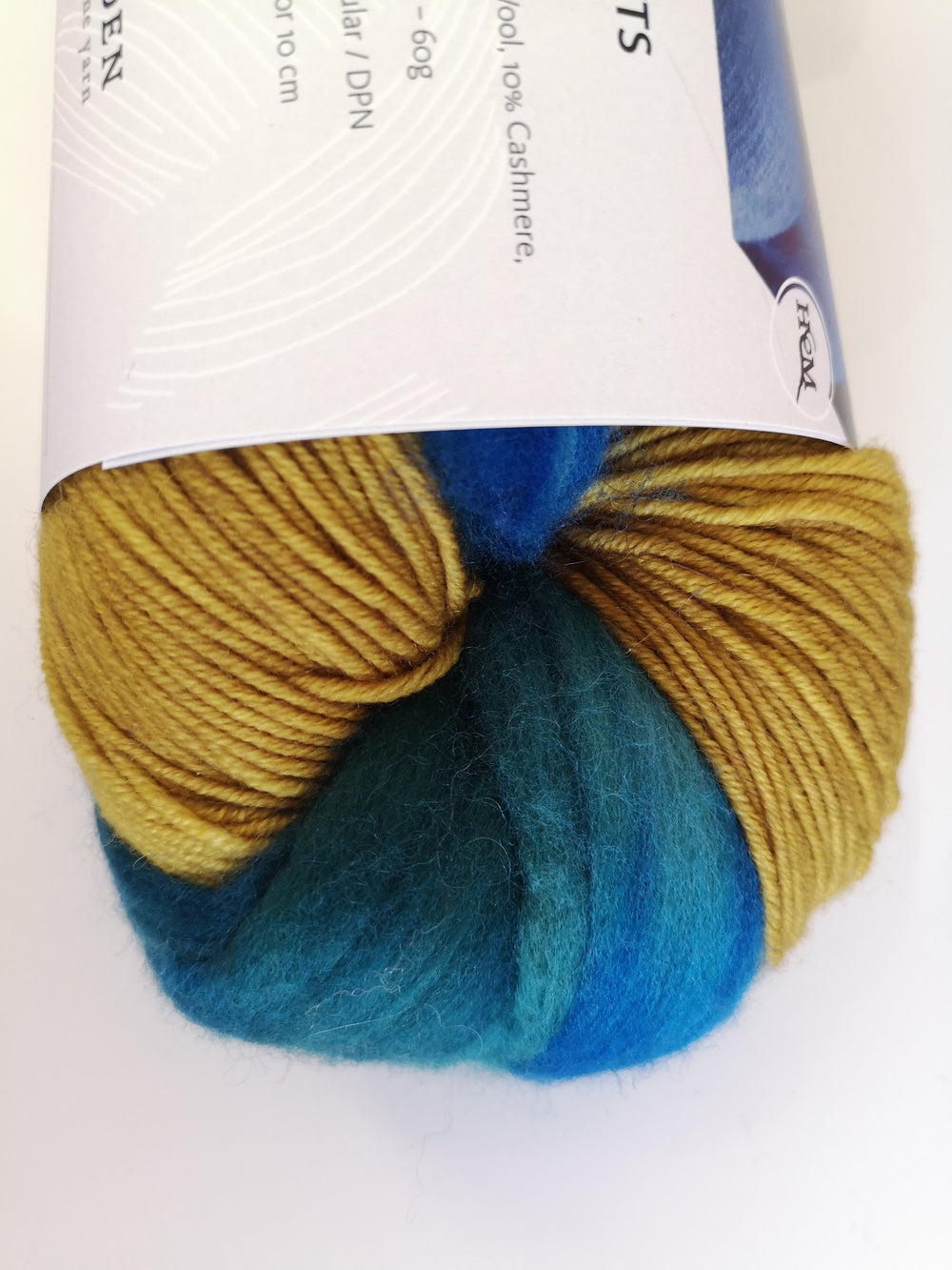 Minegold (Green/Blue Roving)
