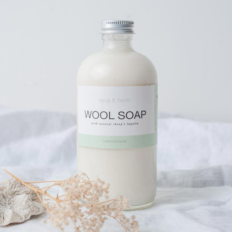 Wool Soap by Twig & Horn
