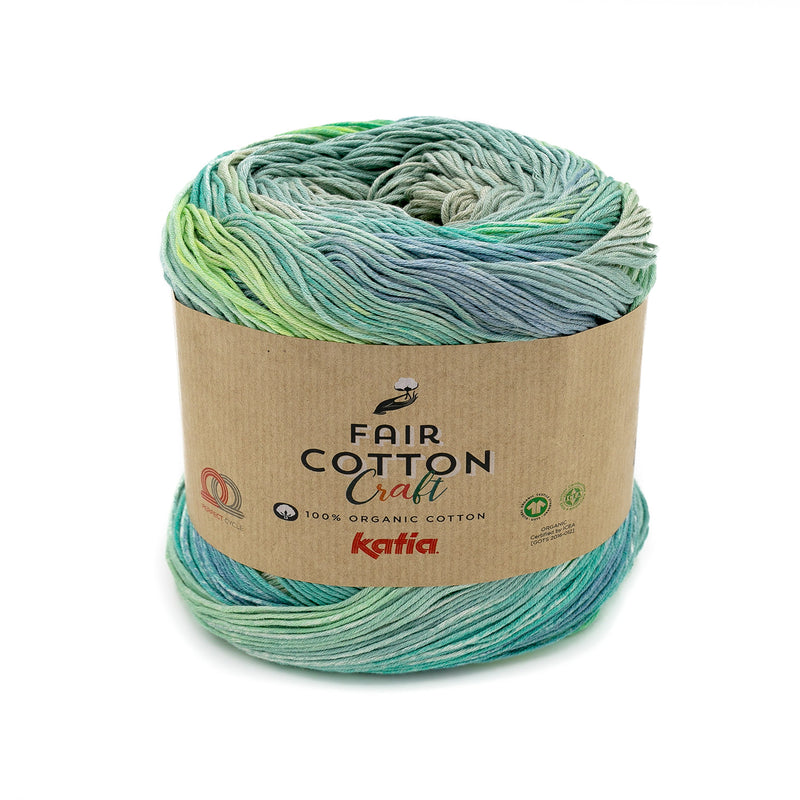 Katia Fair 100% Cotton Craft Fingering Yarn