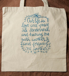 Tote Bag: Our Life
