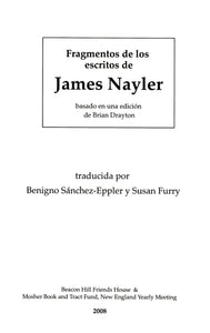 Fragmentos de los Escritos de James Nayler
