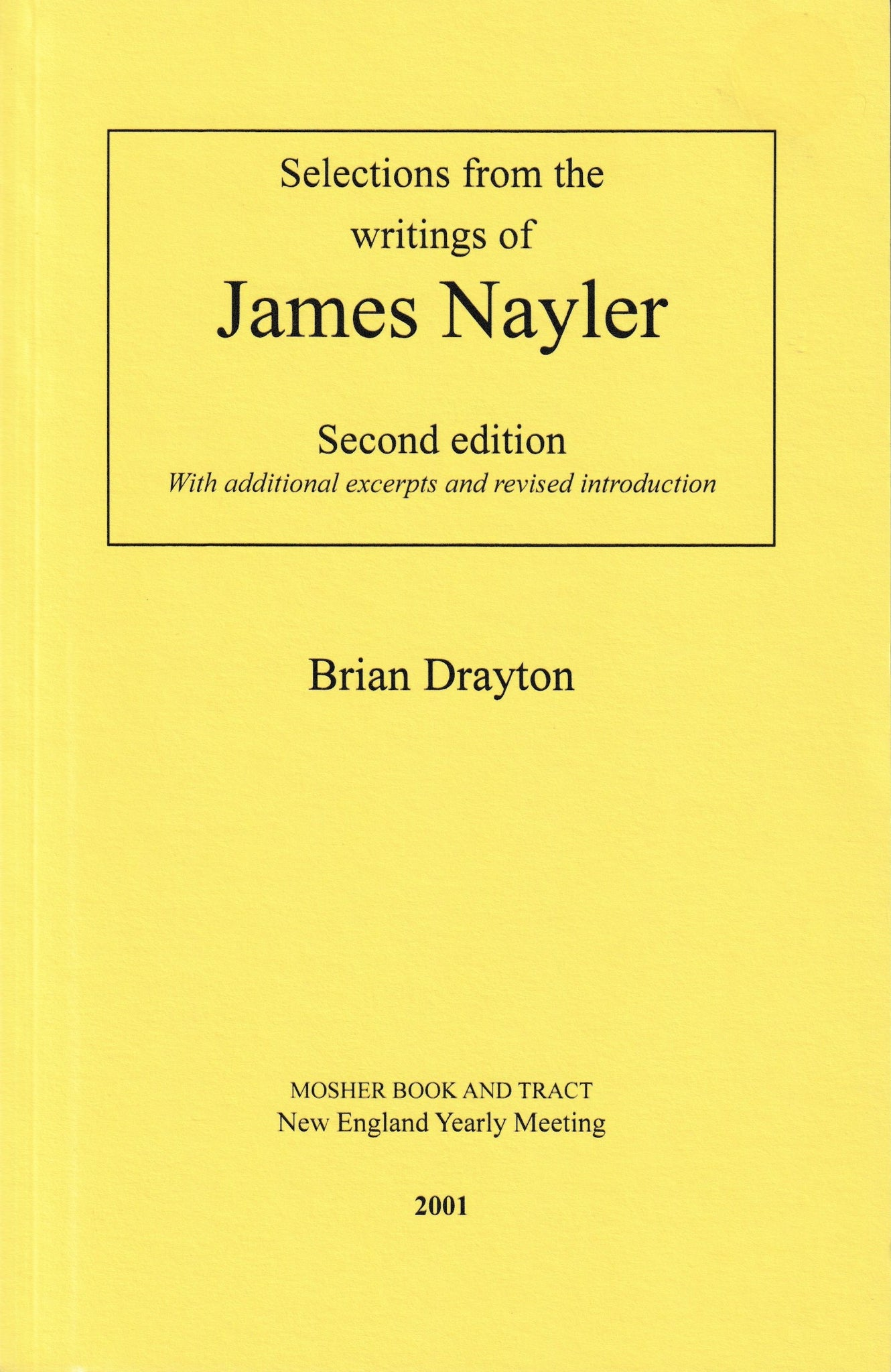 James Nayler: Selected Writings