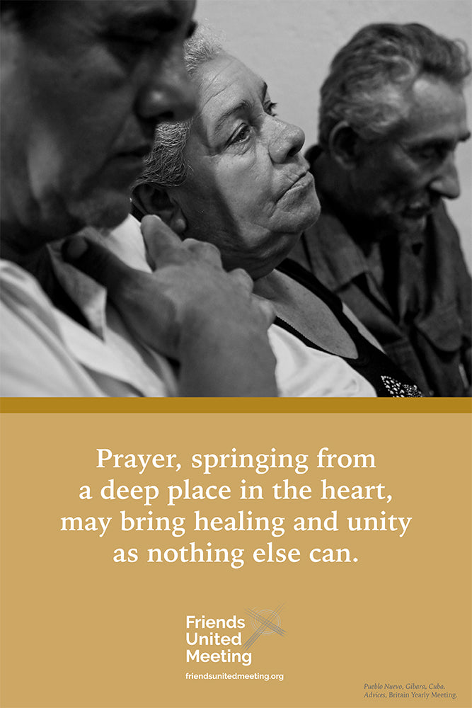Quaker Quote Poster: Britain Yearly Meeting advices