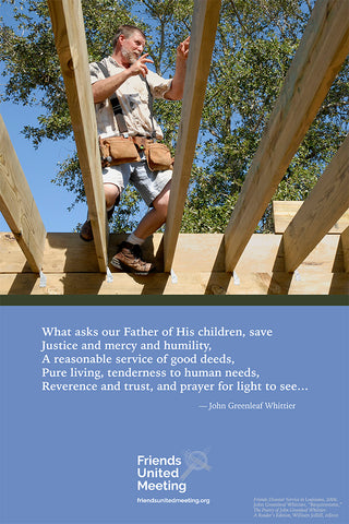 Quaker Quote Poster: John Greenleaf Whittier