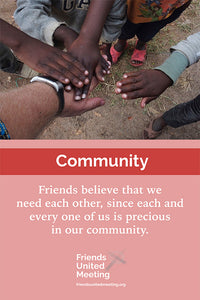 Friends Testimonies Poster: Community
