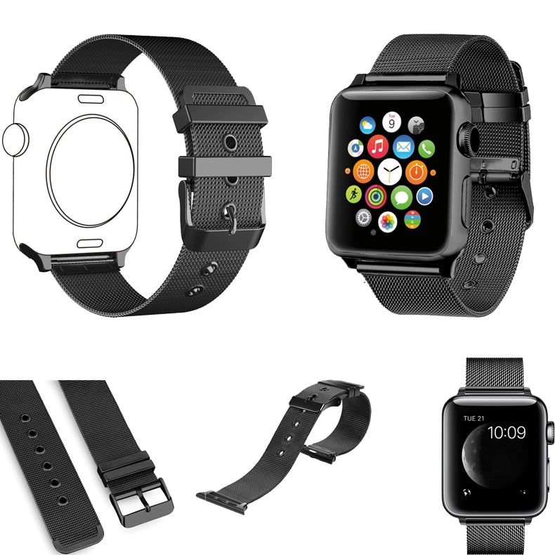 LUNAR+ Series Milanaise Apple Watch Armband (4 Varianten)