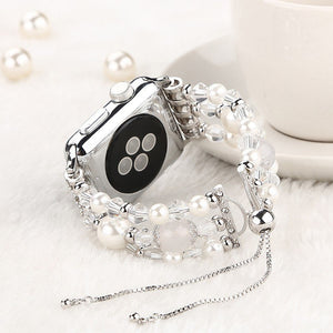 CRYSTALPEARL Series Armband für Apple Watch (6 Varianten)
