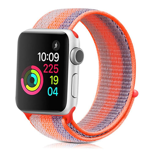 NYLON Series Apple Watch Armband mit Klettverschluss (15 Varianten)