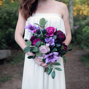 Ultra Violet bridesmaid bouquet