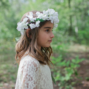 Sweet Pea flower crown