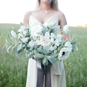 Sage bridal bouquet