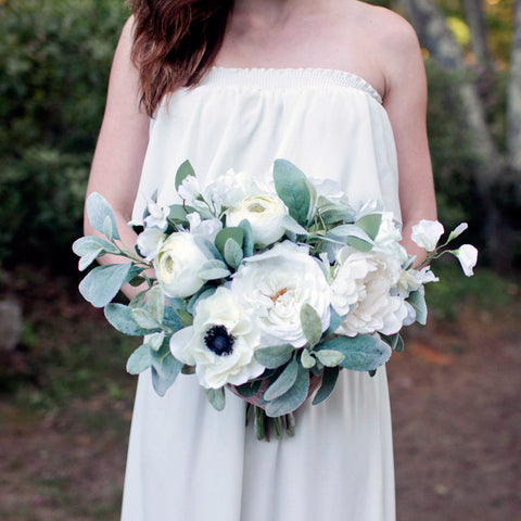 Sage bridesmaid bouquet