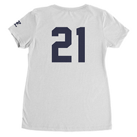 White Zeke Shirt Ladies