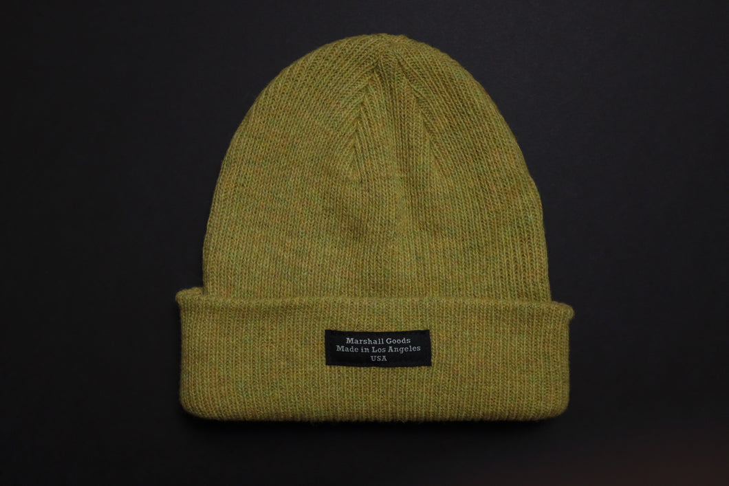 Marshall Goods Merino Wool Beanie Yellow