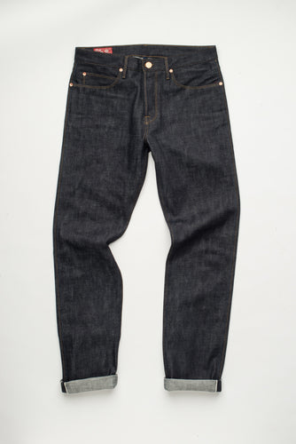 Freenote Cloth Rios Slim Straight 14oz blue - Marshall Goods