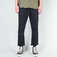 Load image into Gallery viewer, Coast Denim - Flood Pant Raw Hem Washed Black - Marshall Goods