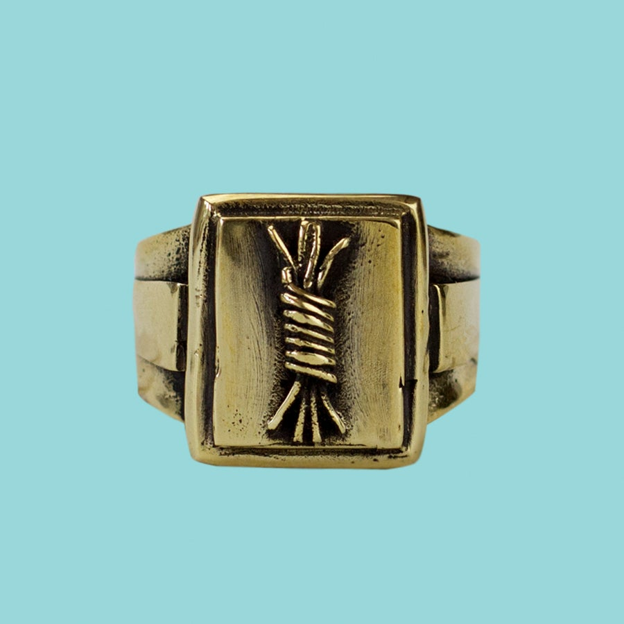 REPOP MFG Prisoner Ring Brass