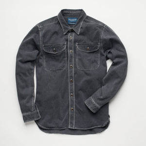 Freenote Cloth Utility Shirt Charcoal - Marshall Goods