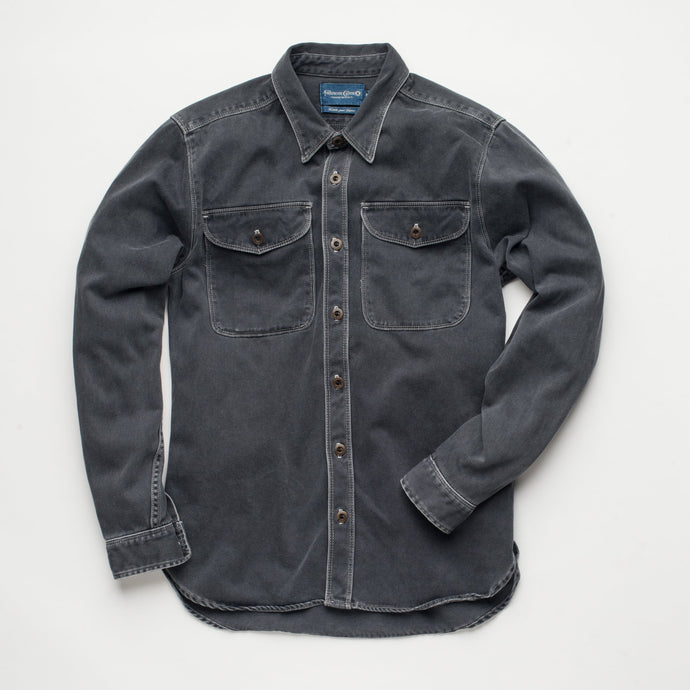 Freenote Cloth Utility Shirt Charcoal