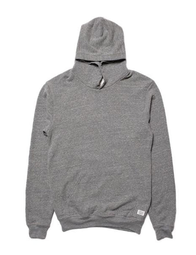 Away Without Leave Hoodie Mock Twist Grey