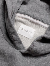 Load image into Gallery viewer, Away Without Leave Hoodie Mock Twist Grey - Marshall Goods