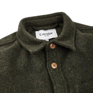 Corridor Lambswool Loden Jacket 18oz - Marshall Goods