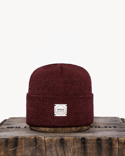 Upstate Stock blood American Mohair Beanie