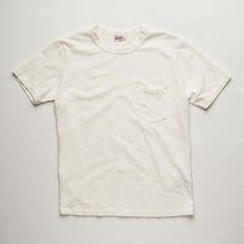Load image into Gallery viewer, Freenote Cloth Vintage Wash Pocket Tee White - Marshall Goods