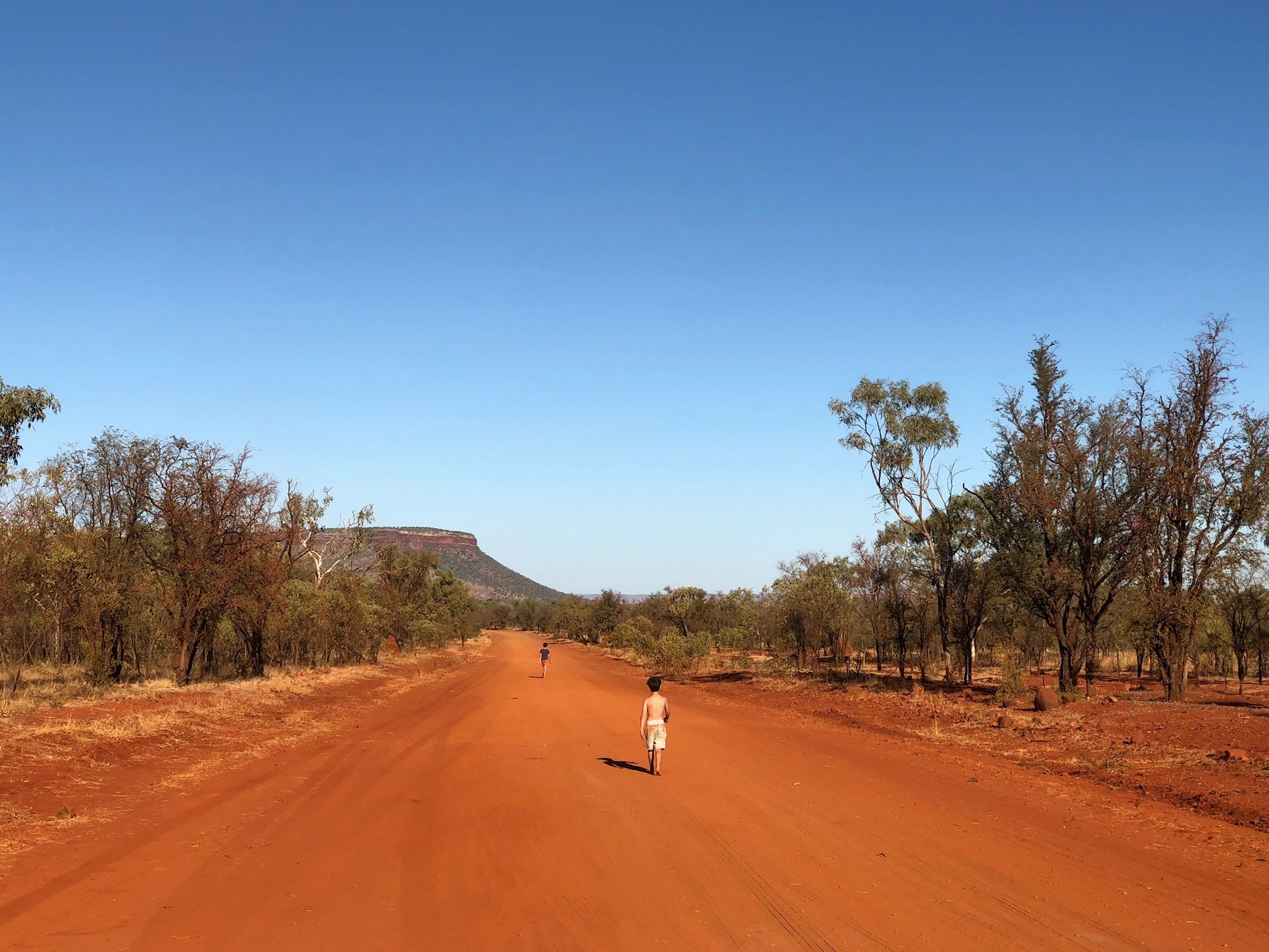 SARAH JANE CLARKE Travel Diary Gibb River Road - The Road