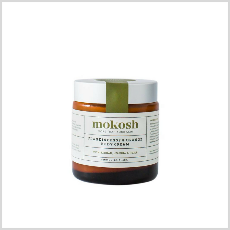 Frankincense & Orange Body Cream