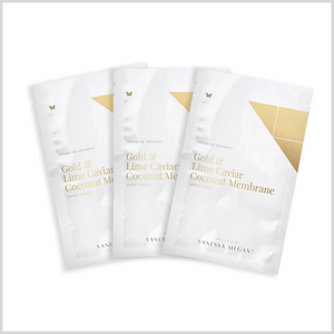 Gold & Lime Caviar Sheet Mask - 3 pack