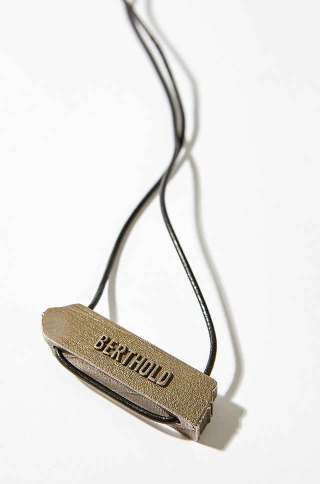 3D Printed Necklace - Gold, BERTHOLD - SWIM XYZ