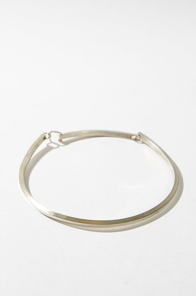 Stirling Square wire silver choker, CC Steding - SWIM XYZ