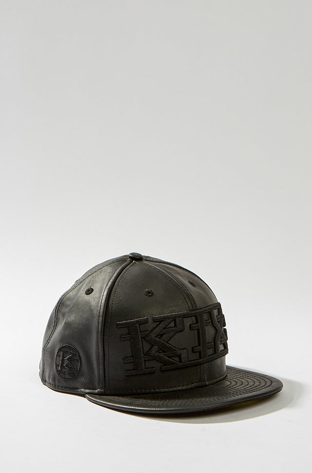 KTZ Black Leather Logo Cap, KTZ - SWIM XYZ
