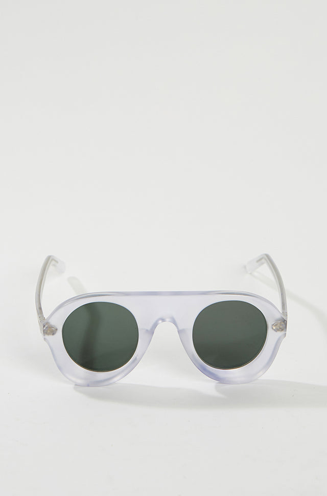 General Eyewear SUTURE Sunglasses - Clear, General Eyewear - SWIM XYZ