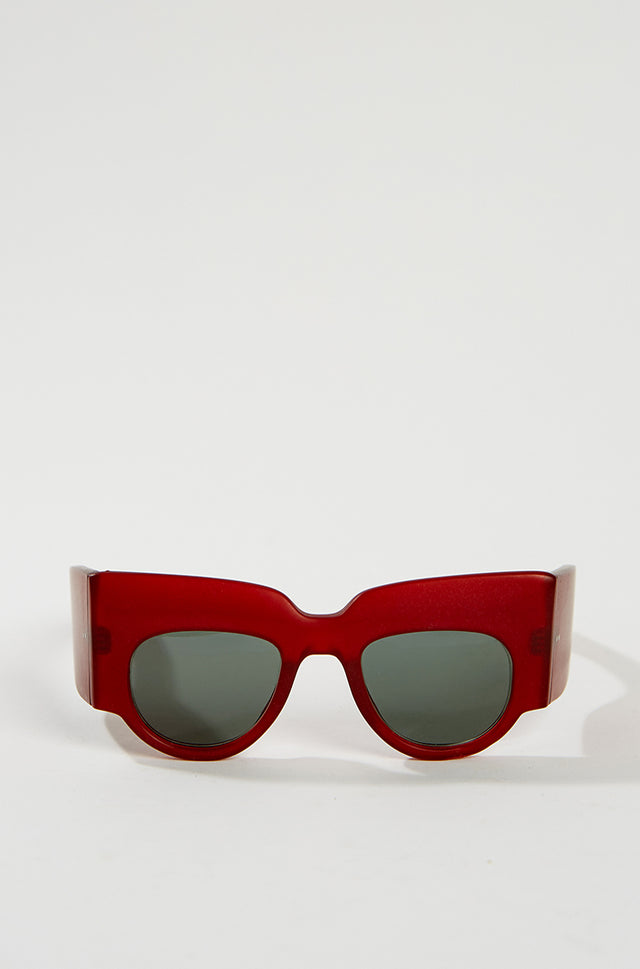 General Eyewear SUTURE Sunglasses - Red, General Eyewear - SWIM XYZ