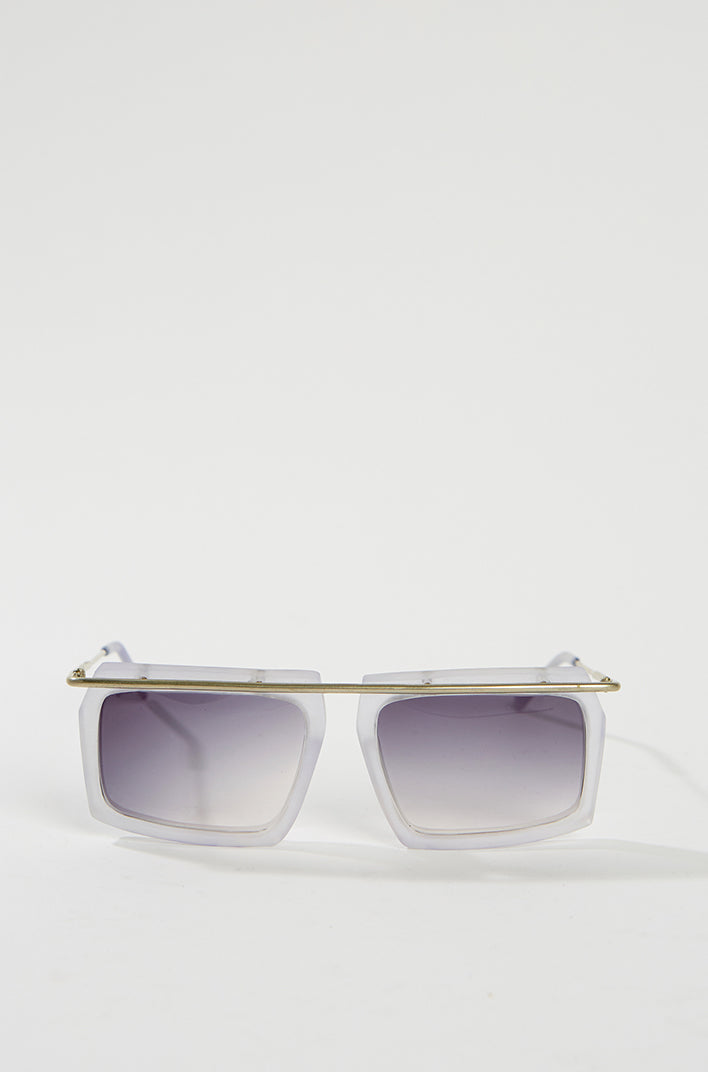 General Eyewear SUTURE Sunglasses - Frosted steel, General Eyewear - SWIM XYZ
