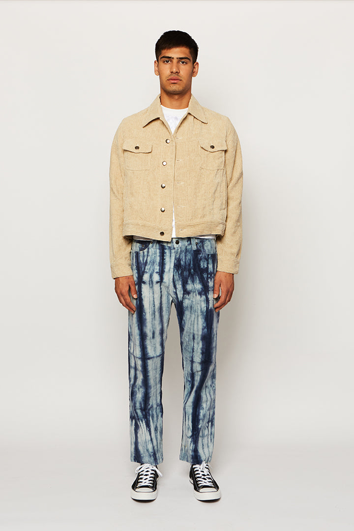 CORDUROY DENIM JACKET, Ka wa key - SWIM XYZ