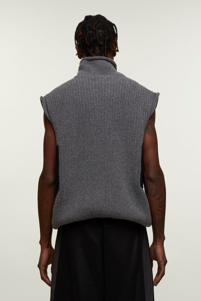 Sleeveless Knitted Roll Neck, BERTHOLD - SWIM XYZ