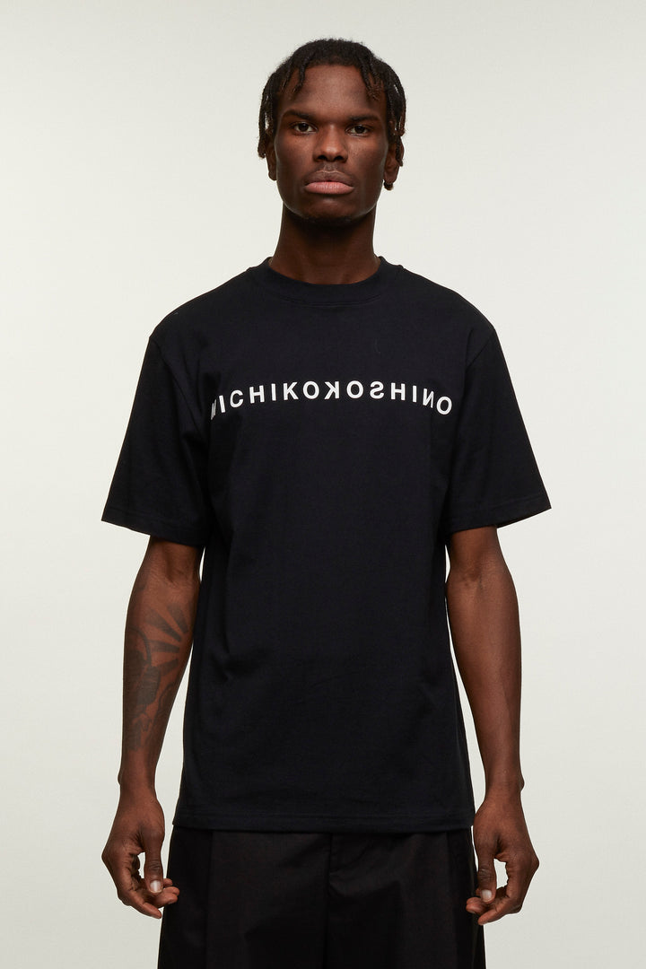 Logo T-shirt Horizontal - Black, Michiko Koshino - SWIM XYZ
