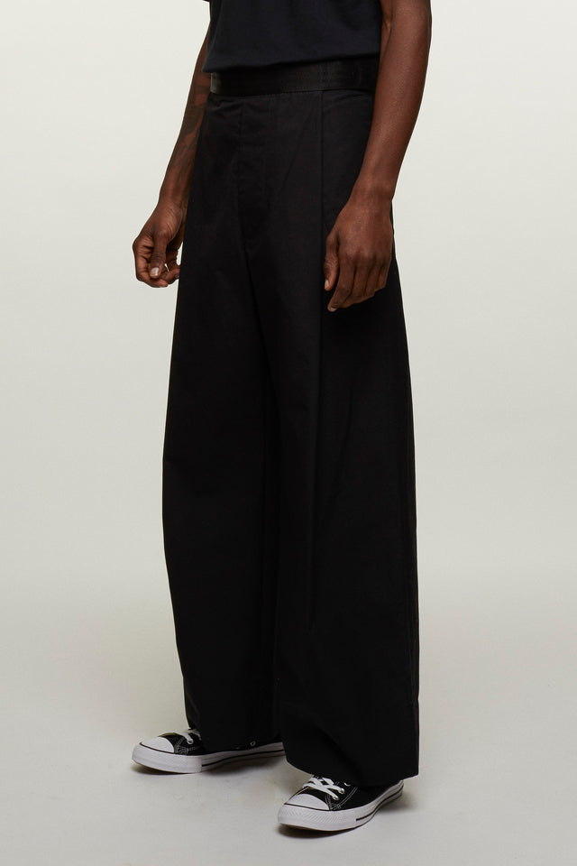 Wide Leg Velcro Trousers