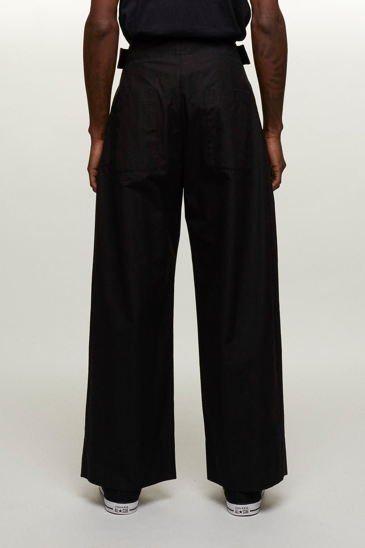 Wide Leg Velcro Trousers, BERTHOLD - SWIM XYZ