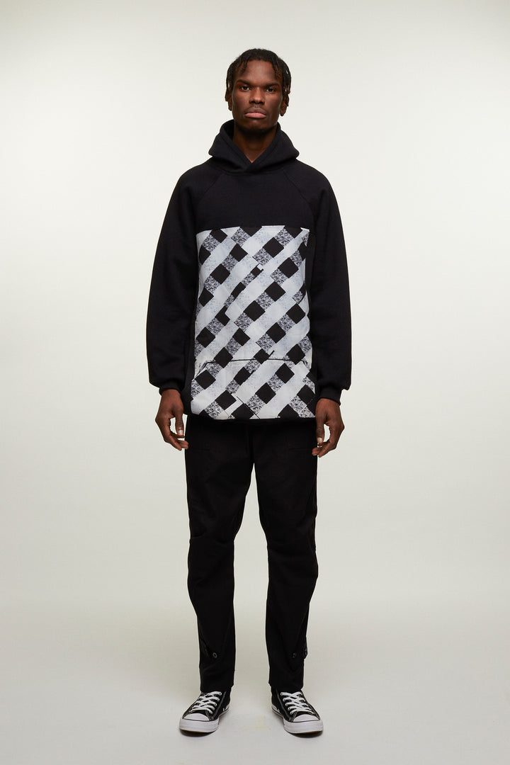 Checkered Graphic Hoodie