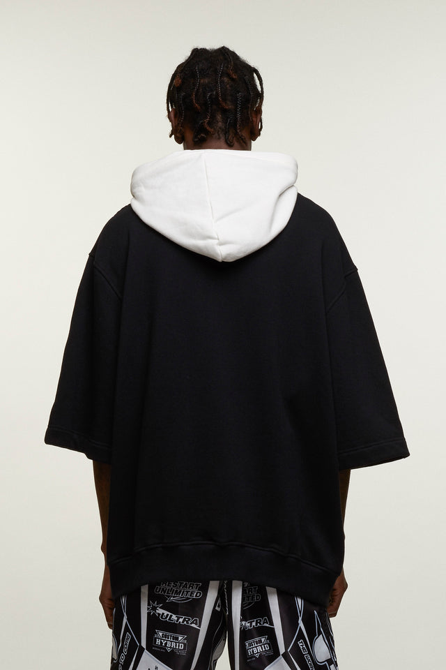 Baseball Logo Hooded Top, Michiko Koshino - SWIM XYZ