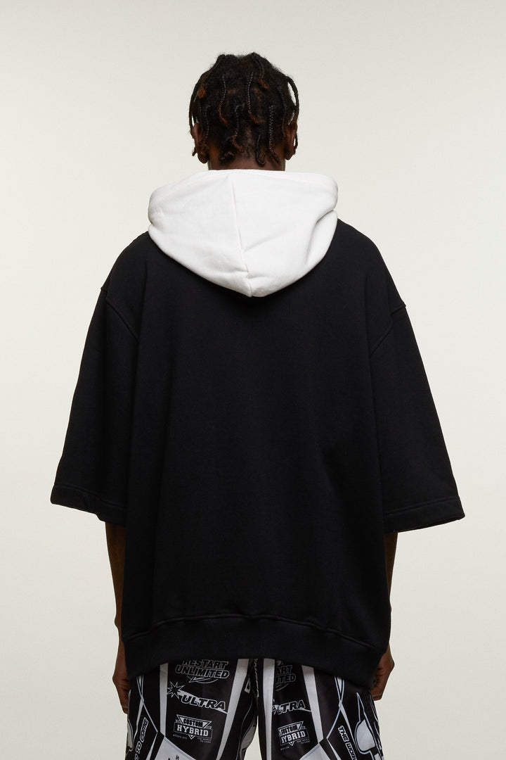 Baseball Logo Hooded Top