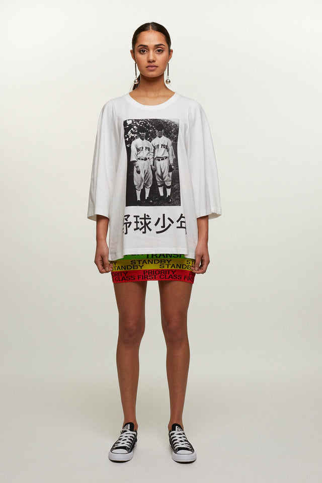 Twins T-shirt, Michiko Koshino - SWIM XYZ