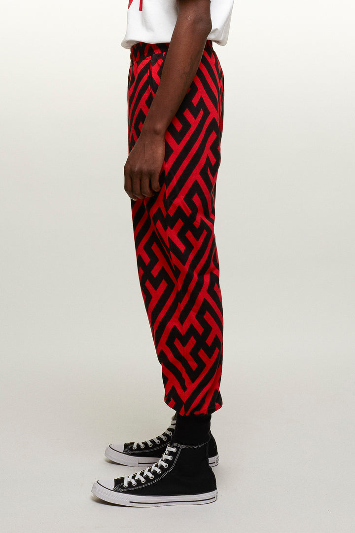 Graphic screen print Jogging Trousers, KTZ - SWIM XYZ