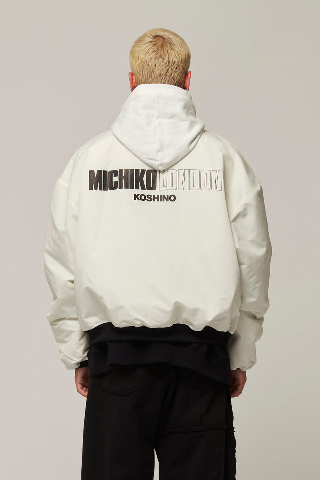 Nylon Bomber Jacket, Michiko Koshino - SWIM XYZ