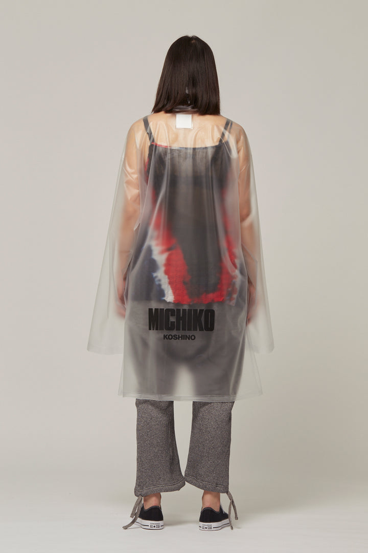 PVC Mac With Logo, Michiko Koshino - SWIM XYZ