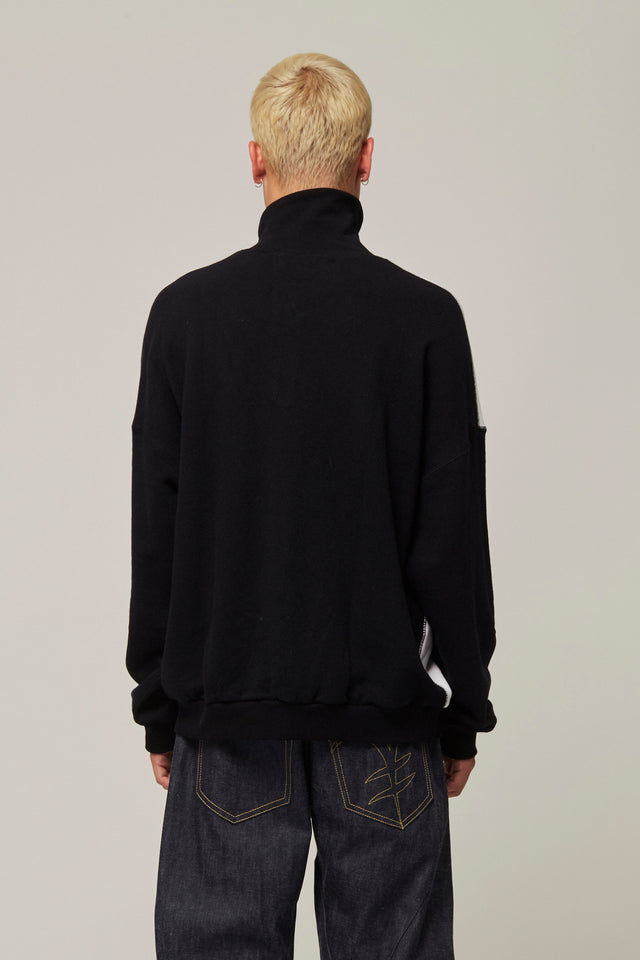 High Neck Sweatshirt, Michiko Koshino - SWIM XYZ